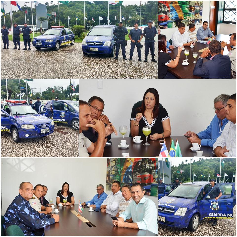 Prefeita Cláudia Oliveira estreita parceria com a Polícia Militar 1