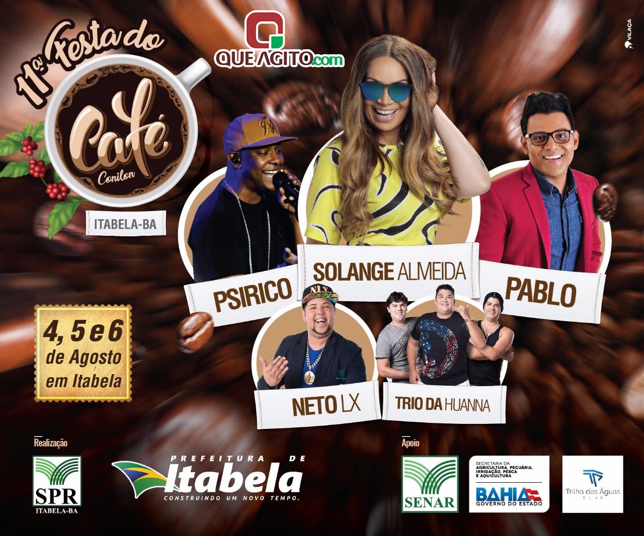 Prefeito divulga as principais atrações da 11ª Festa do Café em Itabela 2
