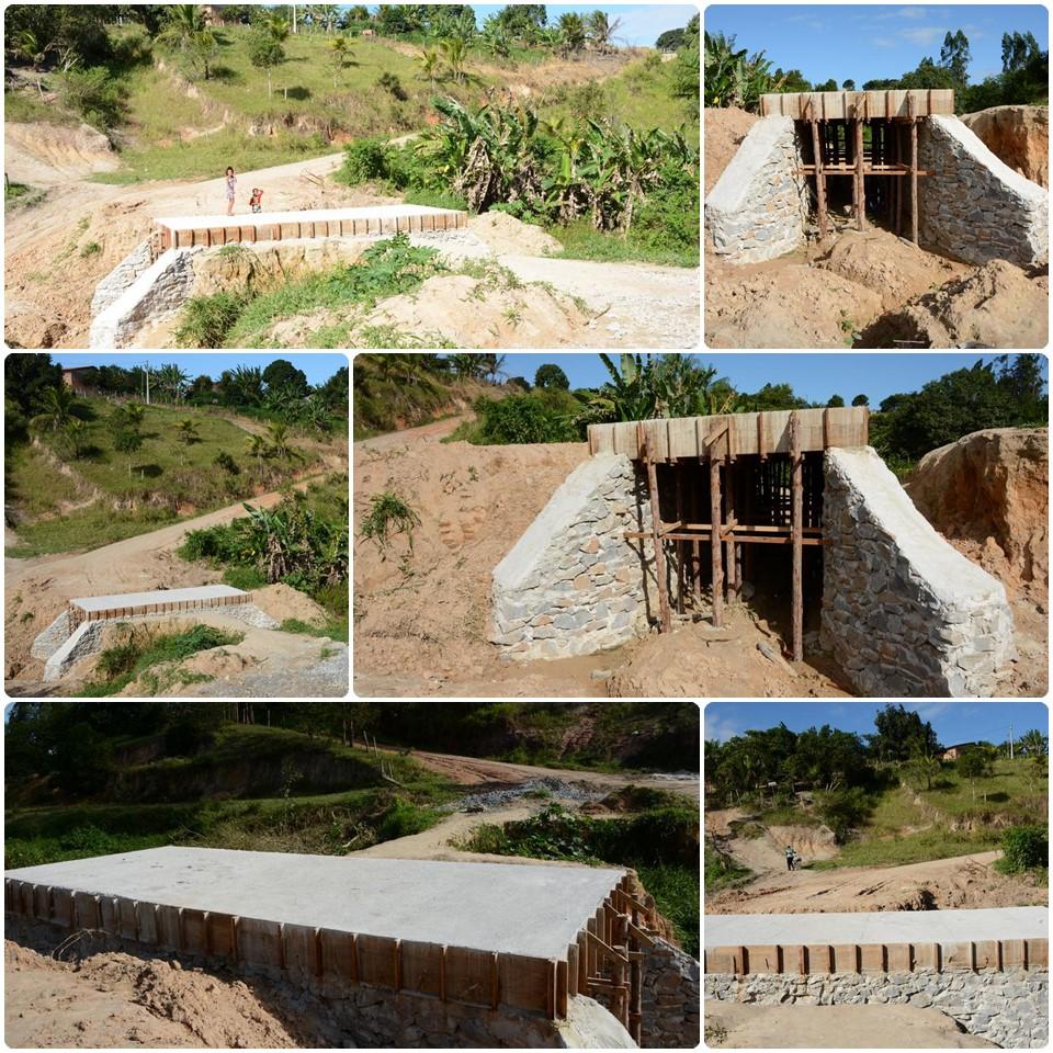 Ponte que liga Juca Rosa e Vista Alegre está em fase final de construção 1