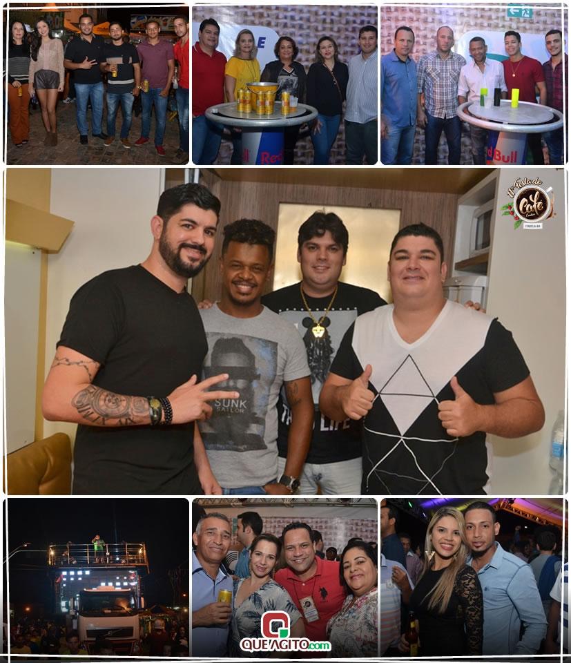Pablo e Trio da Huanna atrai multidão na primeira noite da 11ª Festa do Café Conilon 2