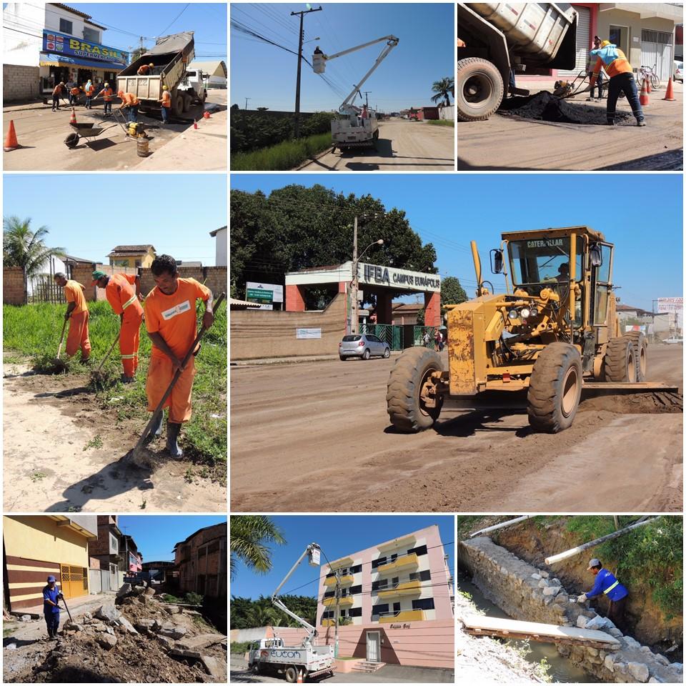 Prefeitura inicia pavimentação de 07 ruas no Juca Rosa 1