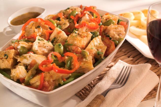 Receita: Bacalhau à espanhola 1