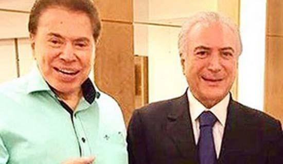 Silvio Santos garante a Temer programa exclusivo sobre Reforma da Previdência 1