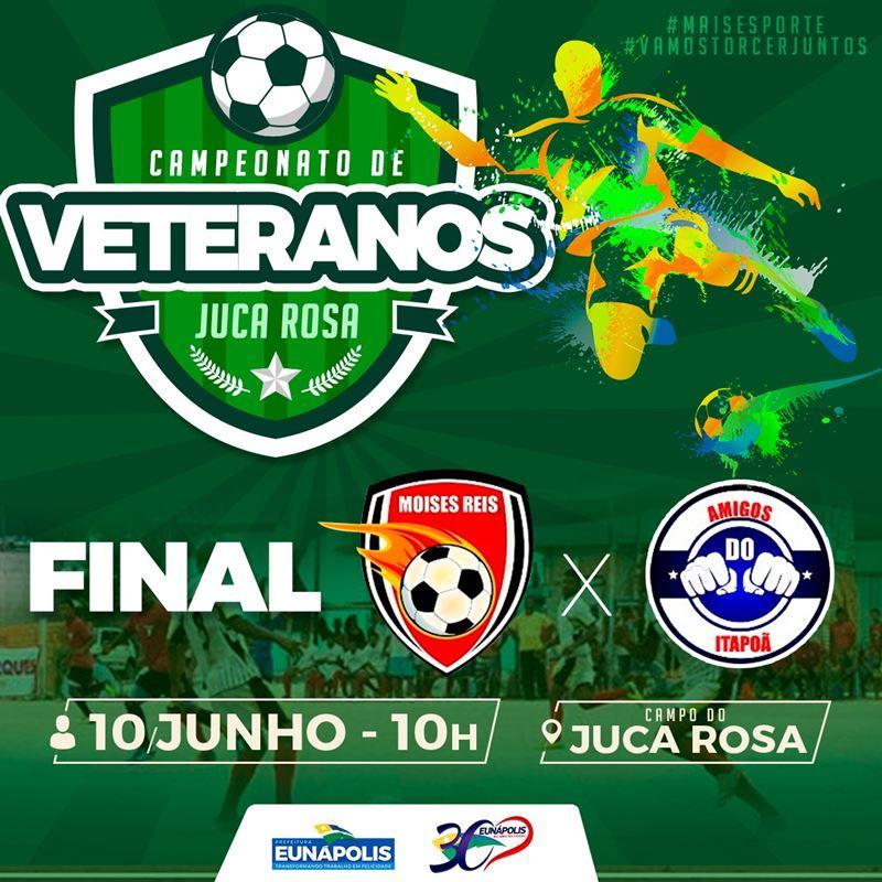Campeonato de Veteranos do Juca Rosa promete eletrizante final neste domingo 1