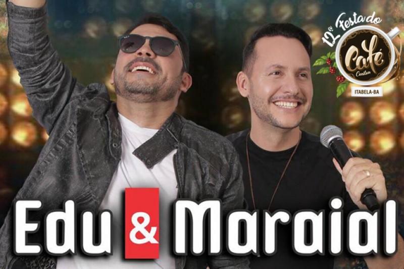 Prefeitura confirma Edu & Maraial como atração principal da 12ª Festa do Café 1