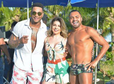 Tony Salles grava clipe do Parangolé com participação de Tirulipa e Gessica Kayane 1