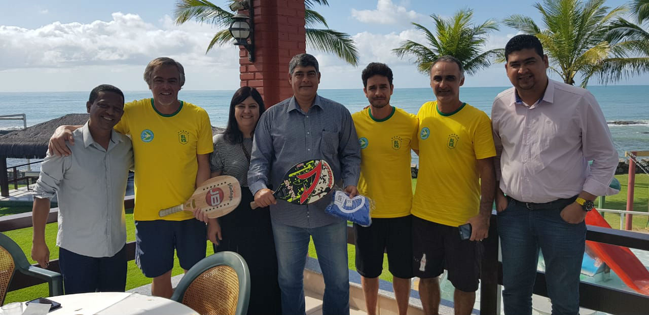 Com 190 atletas de sete países, Pan-Americano de Beach Tennis começa nesta quinta-feira em Santa Cruz Cabrália, na Bahia 1