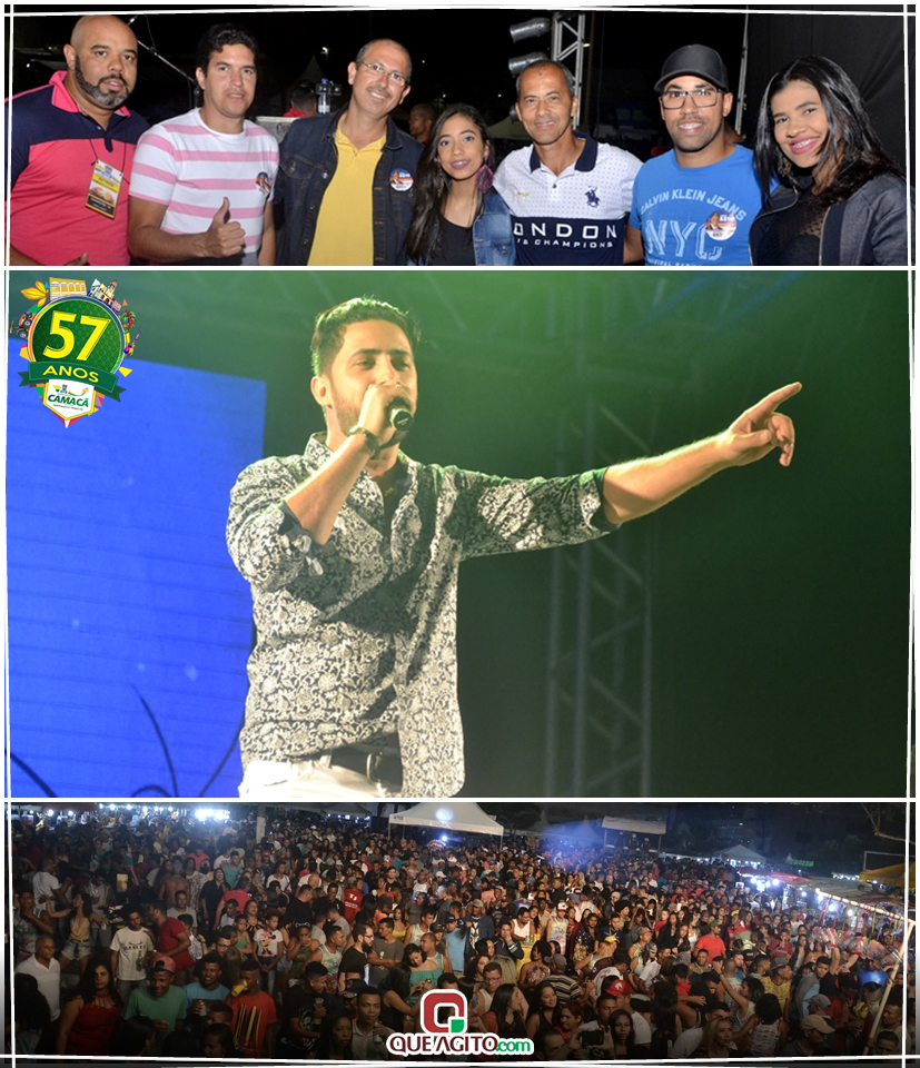 Diversas atrações animaram a segunda noite da 41ª Festa Camacã e o Cacau 4