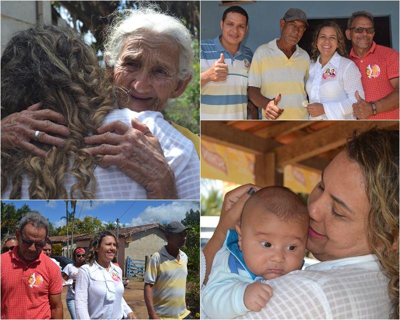Cordélia visita Projeto Produzir e conversa com moradores da região 1