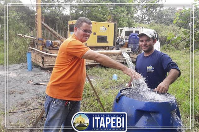 Prefeitura de Itapebí leva água potável para Assentamento União 1