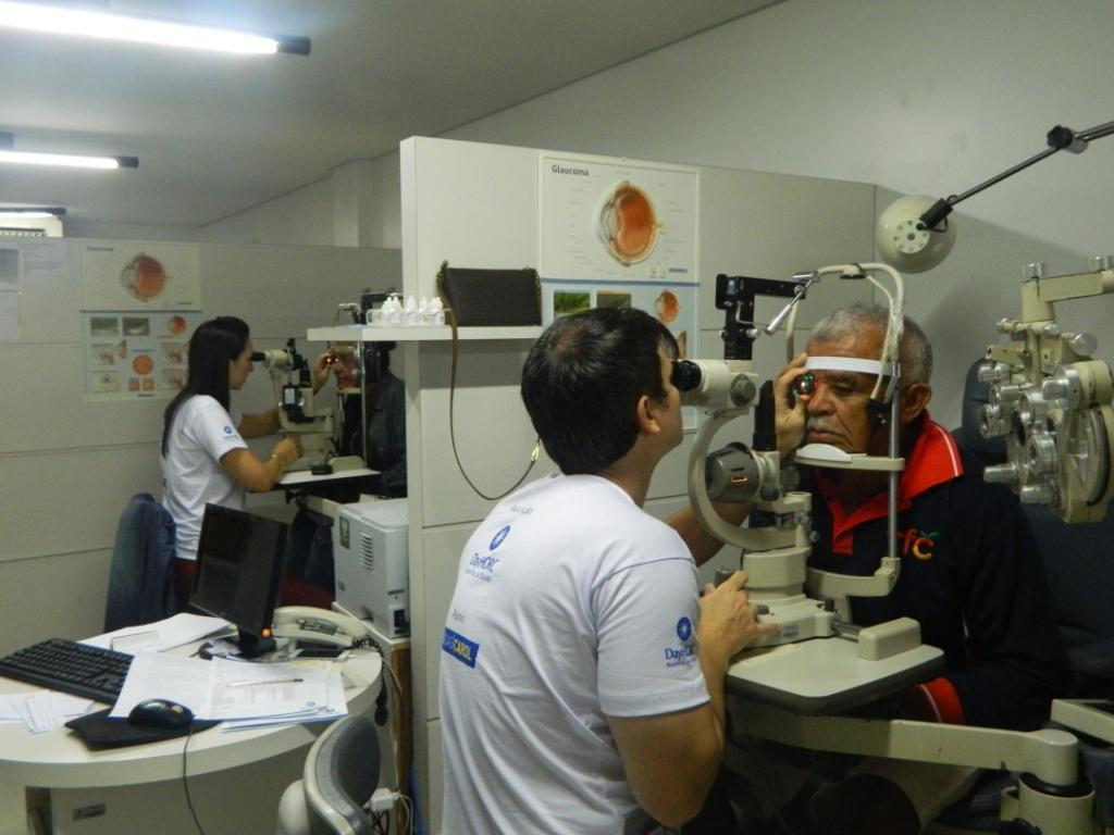 Glaucoma pode levar à cegueira 1