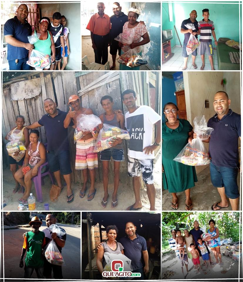 Adriano Cardoso promove Natal Sem Fome em Eunápolis 1