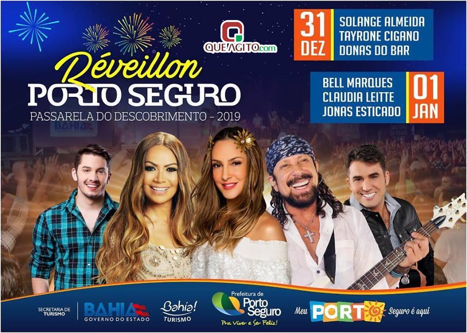 Porto Seguro receberá 2019 com grandes atrações musicais 1