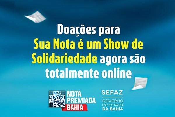 AGO ASSOCIAÇÃO GOTA DO ÓLEO - Participa da campanha Nota Premiada Bahia 2