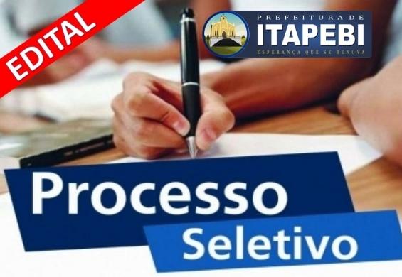 Prefeitura de Itapebi lança edital de Processo Seletivo para diversos cargos 1