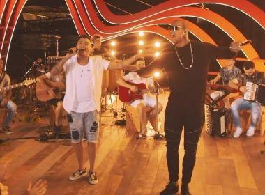 Ao som do pagonejo, Léo Santana e Felipe Araújo lançam 'Aerocorpo' 1