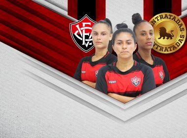 Futebol feminino: Vitória acerta contratação de três jogadoras 1