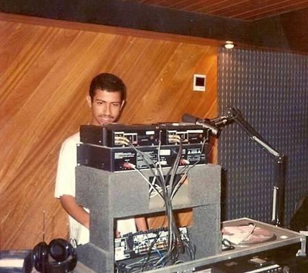 Dennis DJ na adolescência: pioneiro Foto: Acervo pessoal