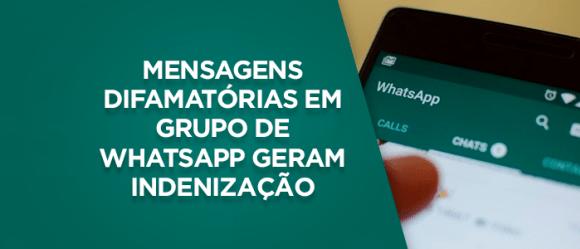 Ofensa em grupo de WhatsApp gera indenização de R$15 mil 1