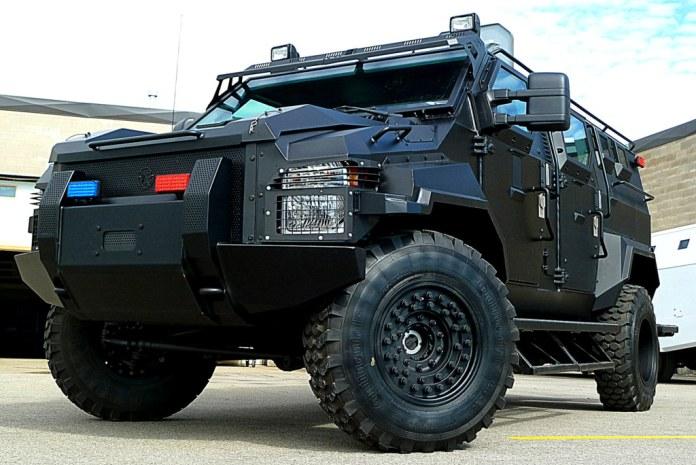 PRF contará com veículos blindados especiais 1