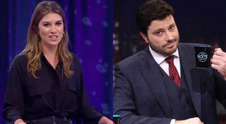 """Danilo Gentili e filha de Silvio Santos estariam """"se conhecendo melhor"""", diz colunista 1"""