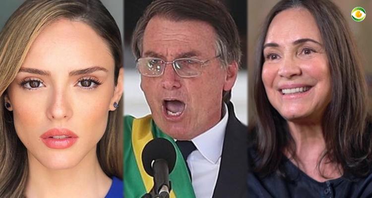 Artistas da Globo e SBT que apoiam Bolsonaro, compram briga e colocam sua credibilidade em jogo 1