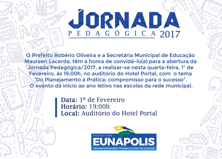 Jornada Pedagógica dá início ao ano letivo em Eunápolis nesta quarta-feira (01/02) 38