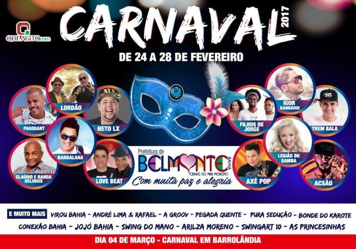 Prefeitura divulga programação em video do Carnaval em Belmonte 41