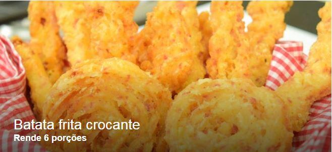 Receita: Batata frita crocante 25