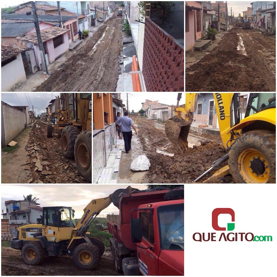 Prefeitura de Eunápolis inicia pavimentação de todo o bairro Edgard Trancoso 45