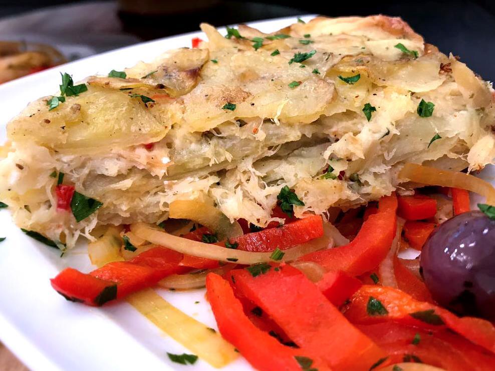 Receita: Torta de Bacalhau Mil Folhas 16