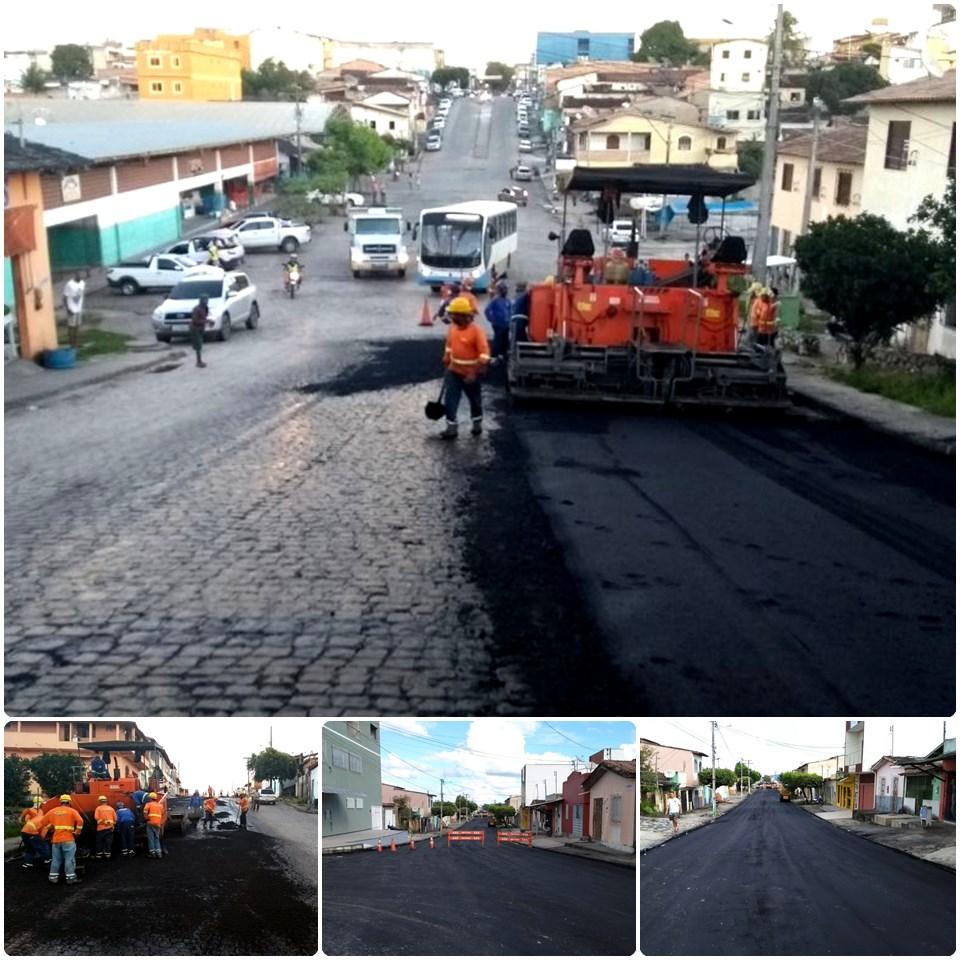 Pavimentação chega à Av. Duque de Caxias em Eunápolis 36