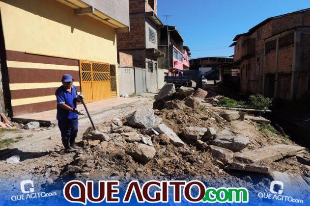 Prefeitura inicia pavimentação de 07 ruas no Juca Rosa 10