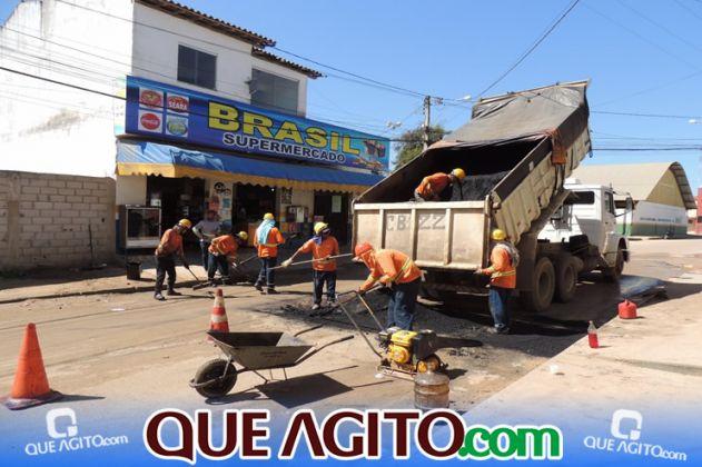 Prefeitura inicia pavimentação de 07 ruas no Juca Rosa 3