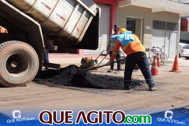 Prefeitura inicia pavimentação de 07 ruas no Juca Rosa 5