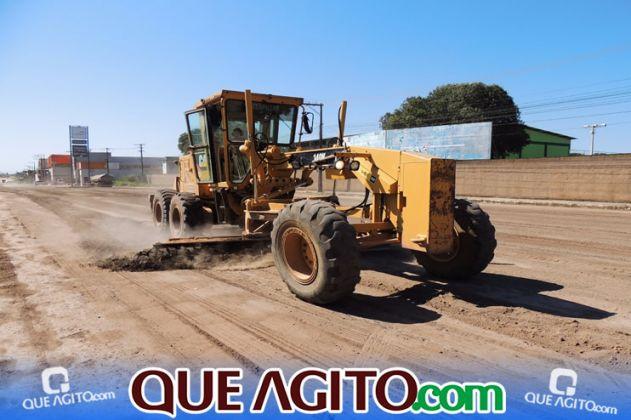 Prefeitura inicia pavimentação de 07 ruas no Juca Rosa 7