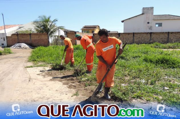 Prefeitura inicia pavimentação de 07 ruas no Juca Rosa 8