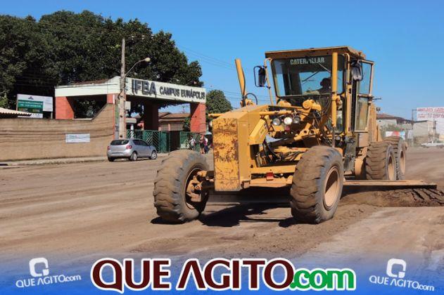 Prefeitura inicia pavimentação de 07 ruas no Juca Rosa 9