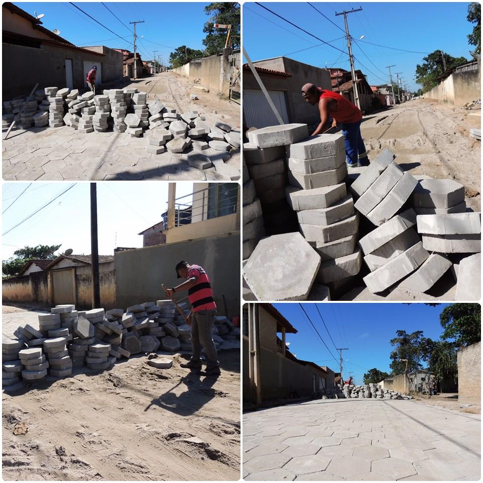 Prefeitura realiza pavimentação nos bairros Urbis I e II 33