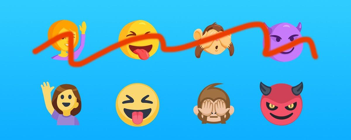 Em breve, Facebook e Messenger terão os mesmos emojis 19