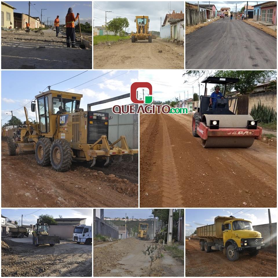 Bairros Dinah Borges, Antares e Stela Reis estão sendo preparados para asfaltamento 42