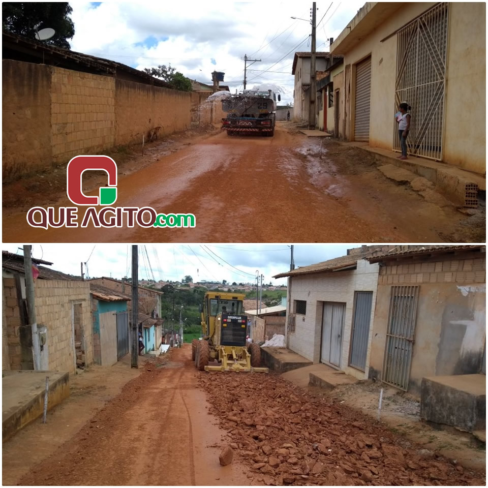 Prefeitura inicia preparação de ruas do bairro Moisés Reis para pavimentação 27