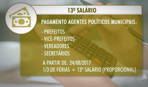 Após decisão do STF, TCM da BA normatiza 13º salário para prefeitos, vices, vereadores e secretários municipais 46