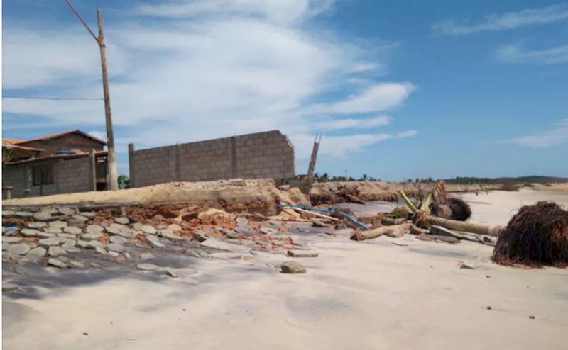 Mar avança novamente em Belmonte 30