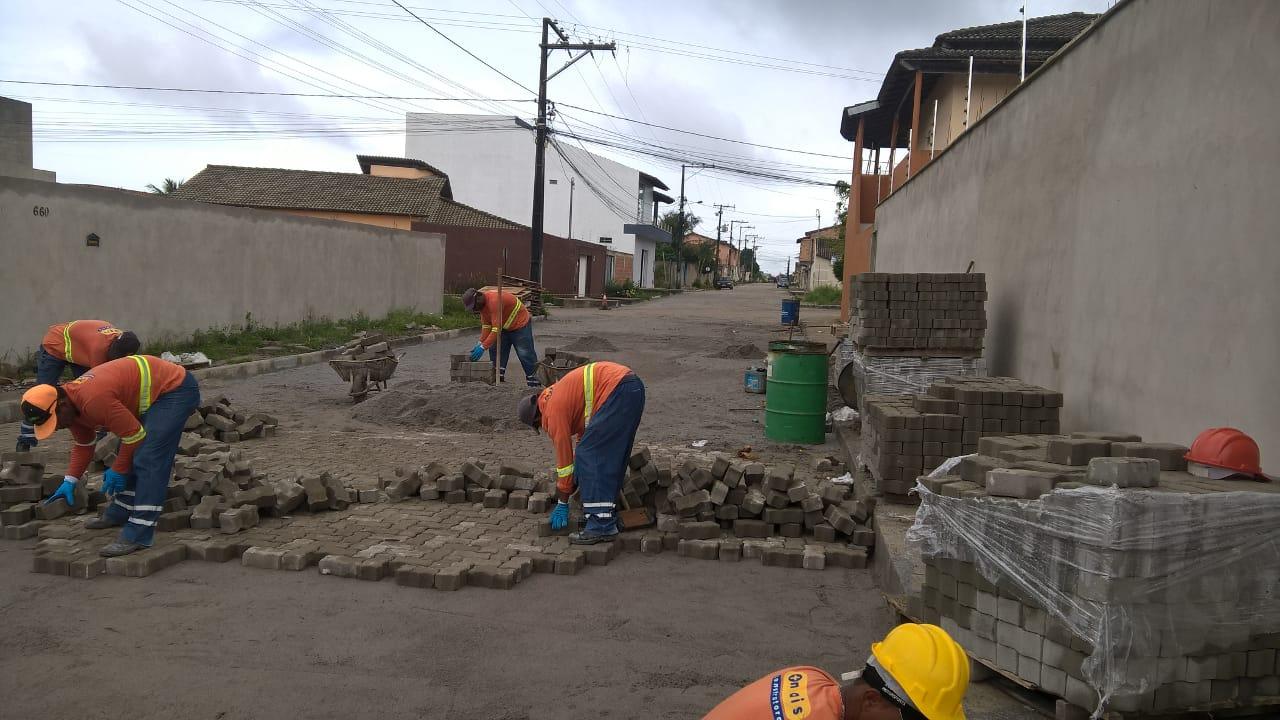 Pavimentações transformam as ruas do Dinah Borges 39