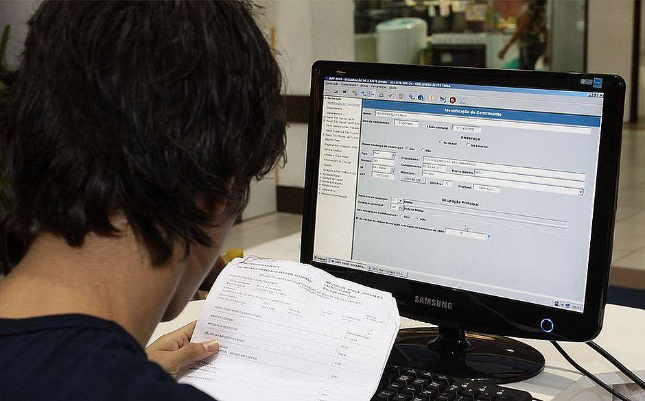 Receita começa a receber hoje a Declaração do Imposto de Renda da Pessoa Física 18