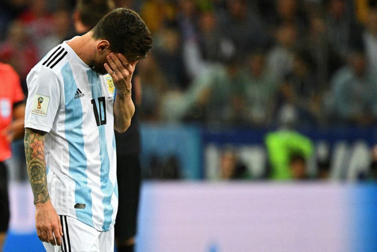 Messi fica de fora da convocação da Argentina para amistosos nos Estados Unidos 25