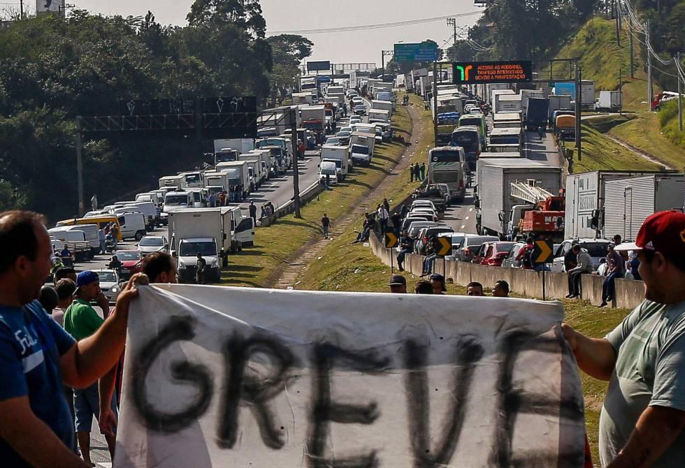 Caminhoneiros criticam alta do diesel e ameaçam greve em 10 dias 1