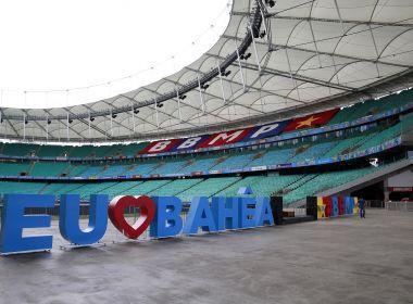Justiça determina que Bahia retire comunicação visual da Arena Fonte Nova 1