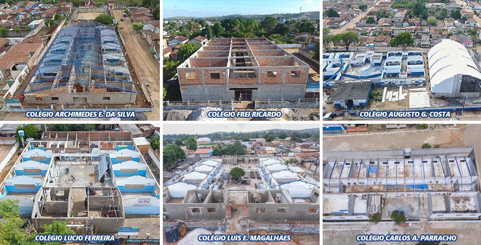 Prefeitura de Itabela apresenta dados sobre execução das obras nas escolas 1